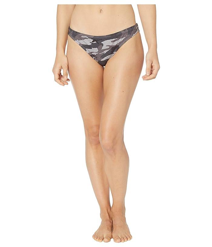 Nike  Camo Bikini Bottoms (Black) Womens Swimwear