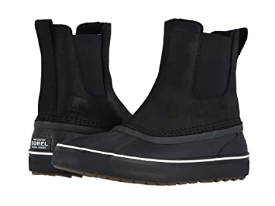 SOREL Cheyannetm Metro Chelsea Waterproof (Black) Men