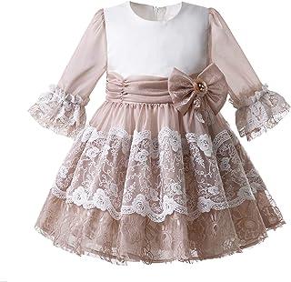 e4f2b3434 Mooler Vestido de comunión niña Floral