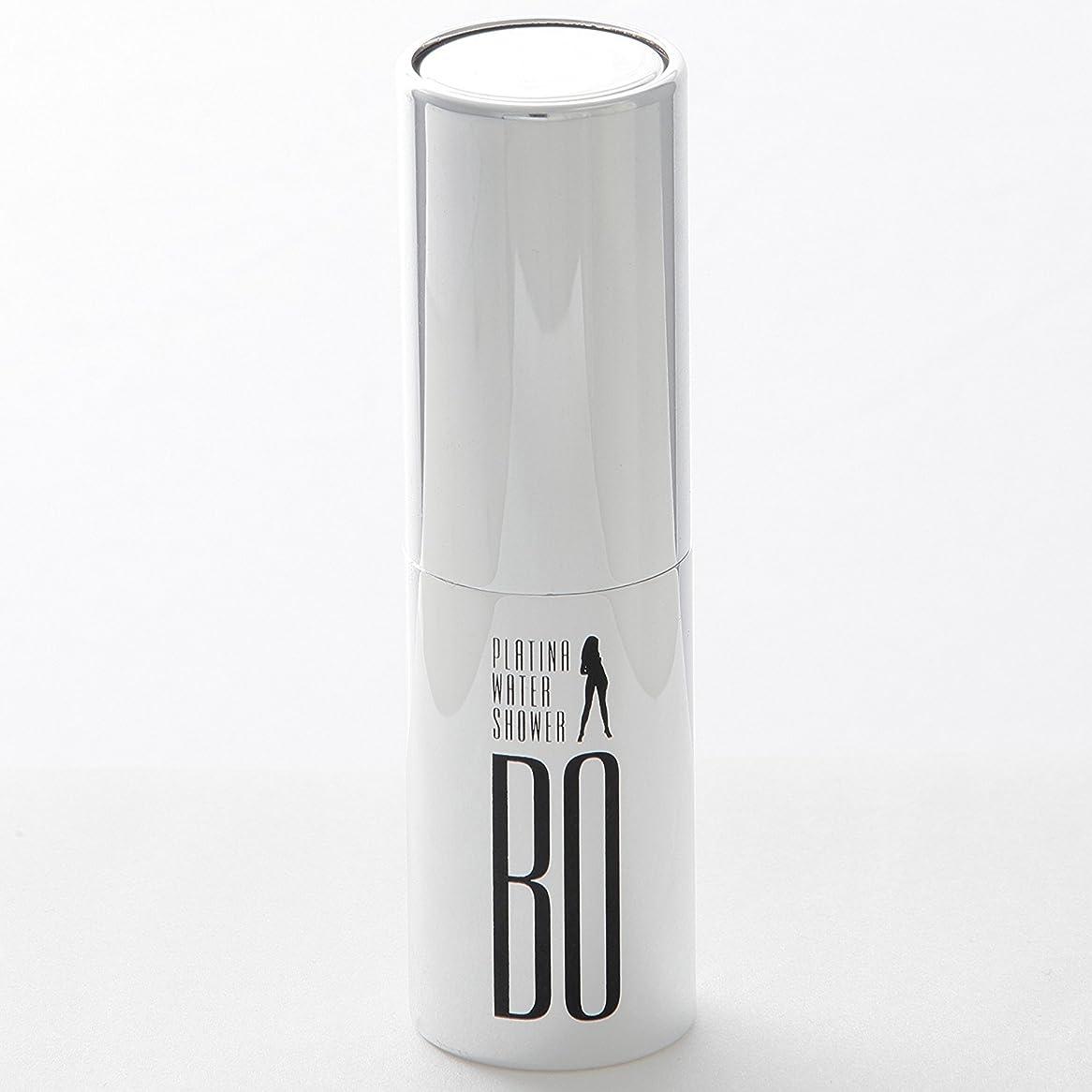 論理的に法医学接続詞BO PLATINA WATER SHOWER 20ml ナノプラチナ 消臭 除菌99.9% ニオイ戻りゼロ ヘアートリートメント