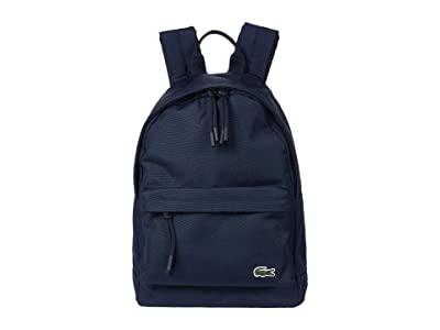 Lacoste Neocroc Small Backpack (Marine) Backpack Bags