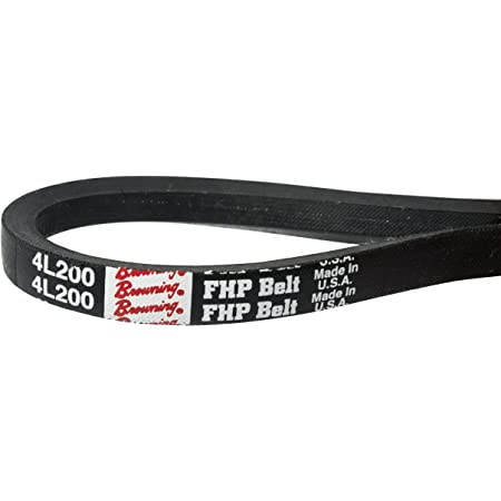 D/&D PowerDrive 4L250 NAPA Automotive Replacement Belt Rubber Three Pack 1 Number of Band