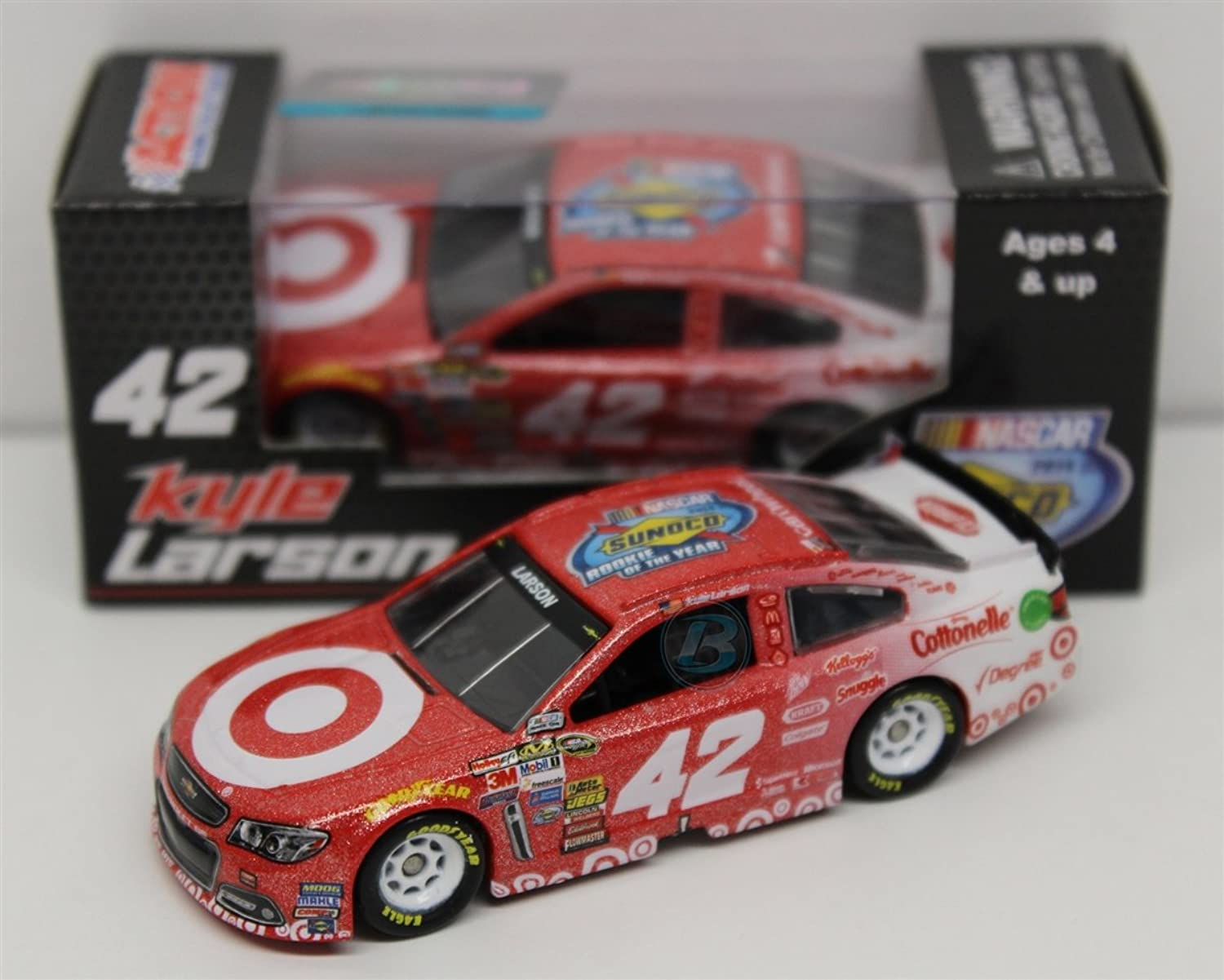 Kyle Larson 2014 Target Rookie of The Year 1 64 Galaxy Nascar Diecast