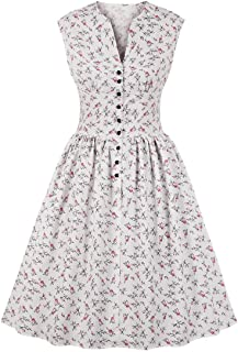 Best plus size vintage floral dress Reviews