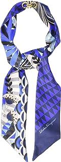Salvatore Ferragamo Women's Mini Twill Malawi Silk Scarf