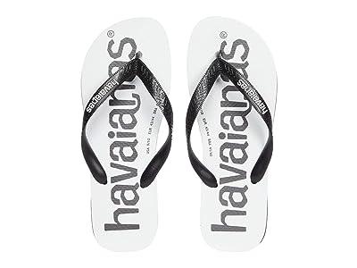 Havaianas Top Logomania Sandal (Black/Black) Men