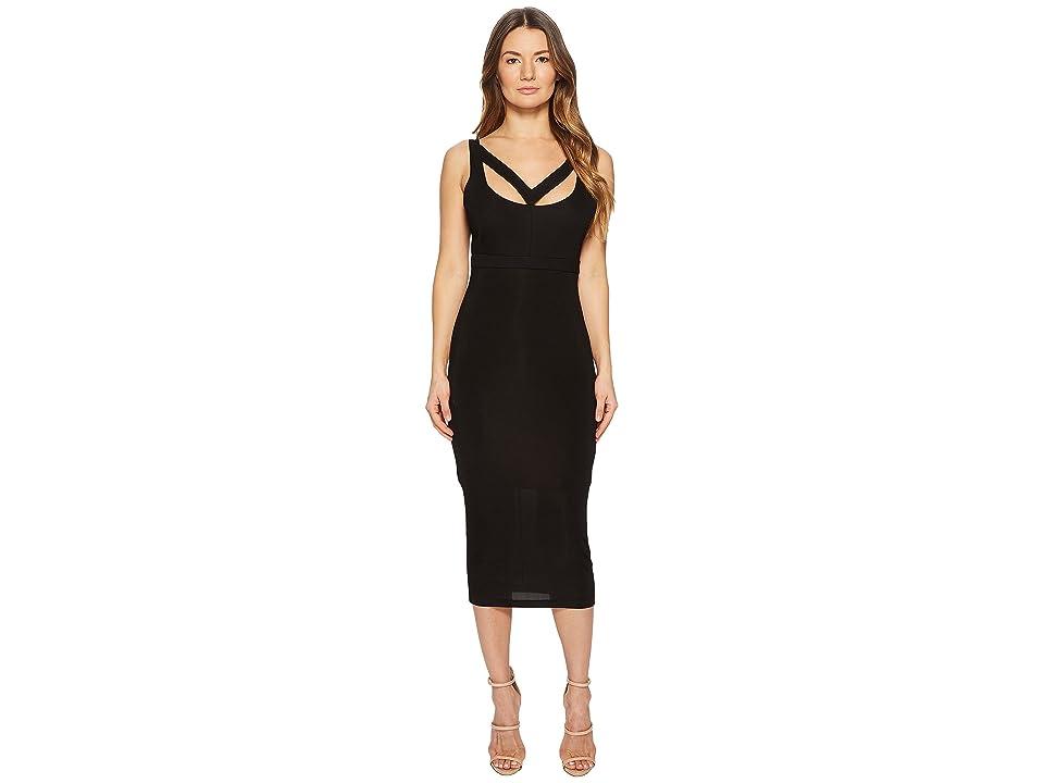 Versace Jeans Couture Cut Out Sleeveless Dress (Black) Women