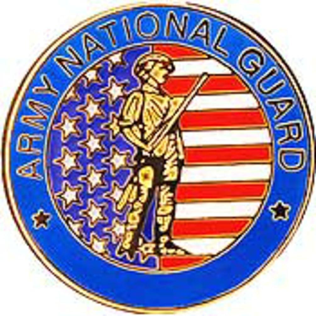 EagleEmblems P14776 Pin-Army,National Guard (Sml) (3/4'')
