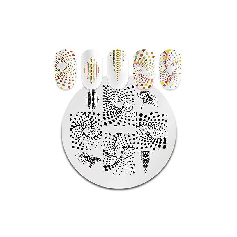 シプリーコインインカ帝国AKIROKスクエアラウンドネイルスタンピングプレート動物パターンステンレススチールスタンピングテンプレートネイルアートデザインツール,PY-Y002