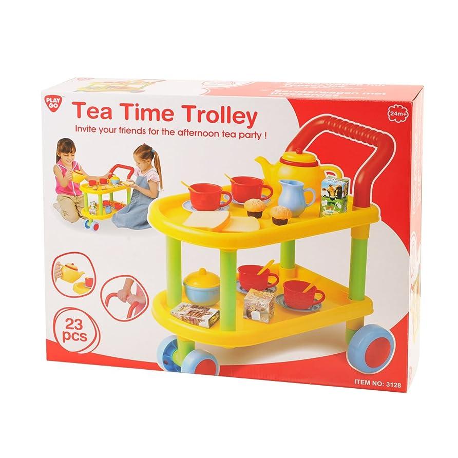 チキン証拠テレックス23-piece Tea Time Trolley Set