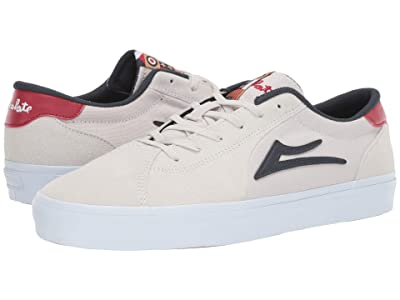 Lakai Flaco II (White Suede) Men