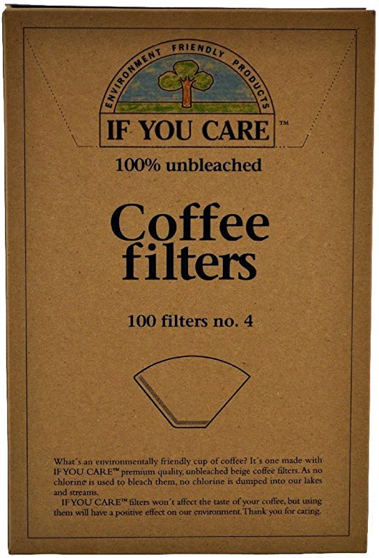 If You Care Unbleached Coffee Filters 4 Cone 100 Count Pack Of 2