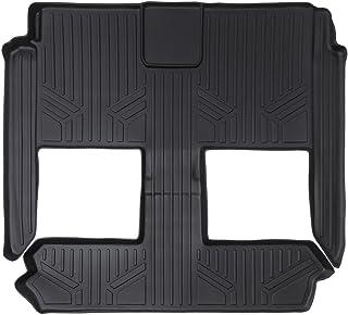 MAXFLOORMAT سجادات أرضية مكونة من 2nd و الصف الثالث حصيرة باللون الأسود لهاتف 2008–2018لسيارة Dodge Grand Caravan/سيار...