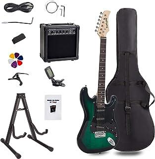 Display4top - Kit de guitarra eléctrica de tamaño completo