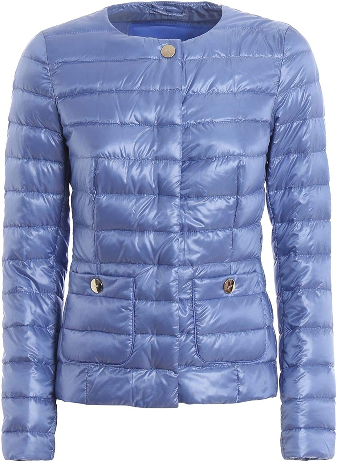 HERNO Women's PI0595D120174510 Light blueee Polyester Down Jacket