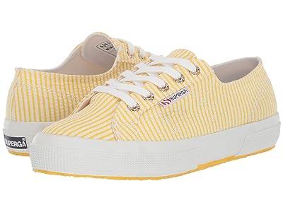 Superga 2750 Janw Sneaker (Yellow Stripes) Women