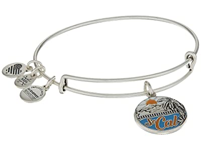 Alex and Ani Places We Love So Cal Bangle (Rafaelian Silver) Bracelet