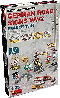 ミニアート 1/35 第二次世界大戦 ドイツ道路標識 フランス1944 プラモデル MA35600