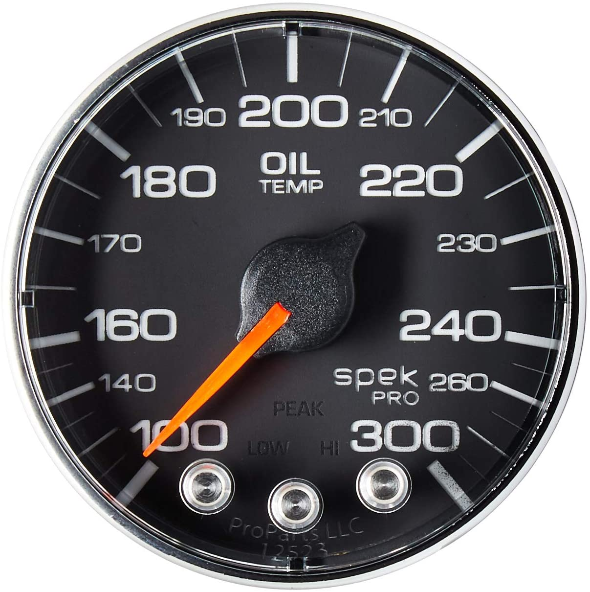 AUTO Max 84% OFF Animer and price revision METER P322318 Gauge Oil Temp 2 1 300ºf S Spek-Pro 16