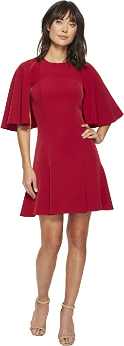 Laundry by Shelli Segal - Twill Fit and Flare Dress