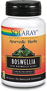 Solaray Guaranteed Potency Boswellia Resin Extract 450 mg VCapsules | 60 Count