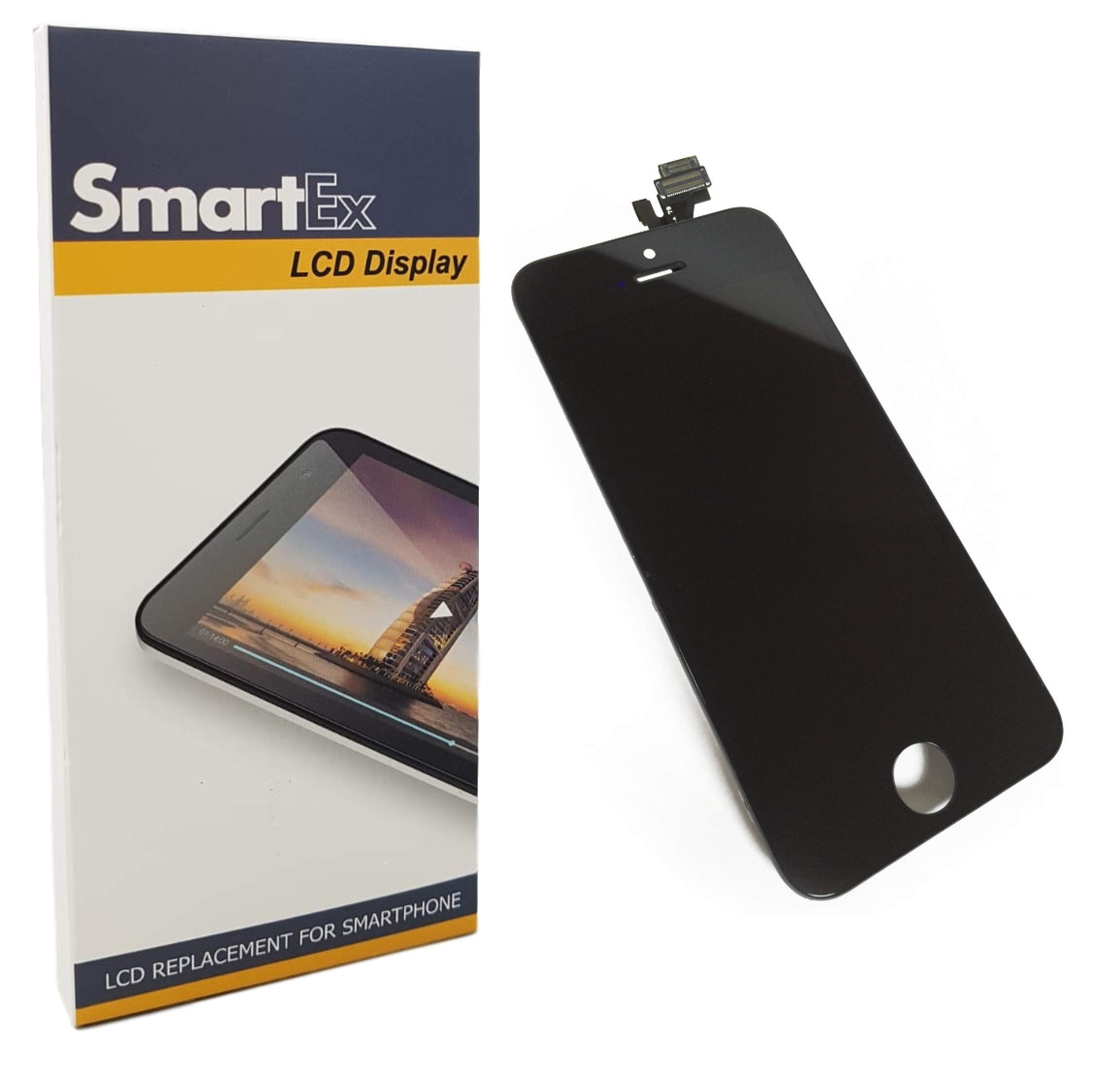Smartex New Pantalla Negro Compatible con iPhone 5 / Display LCD ...