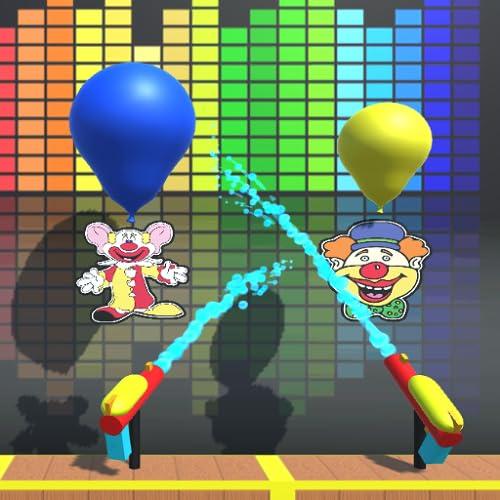 Water Gun Balloon Pop
