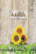 Address Book: Large Print Address Book Alphabetically Ordered | Address and Birthday Book Organizer with 110 Pages, 3 Entr...