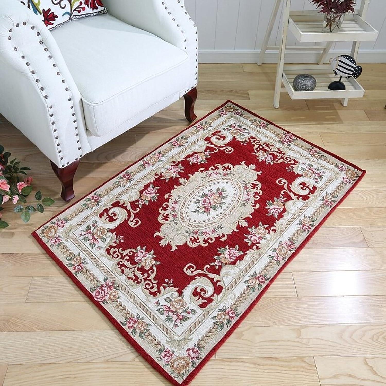 Indoor mats Floor mats for Bedroom Bathroom Kitchen Water-Absorption Anti-Slip mat-F 90x140cm(35x55inch)