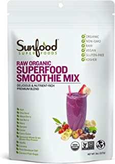 Sunfood Superfood Smoothie Mix, 8 Ounces, Organic