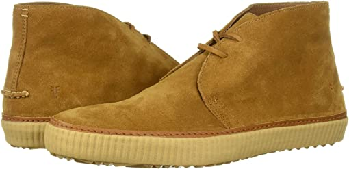 Wheat Washed Waxed Suede