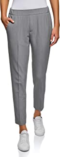 Oodji Ultra Women's Tight Trousers with Elastic Waistband