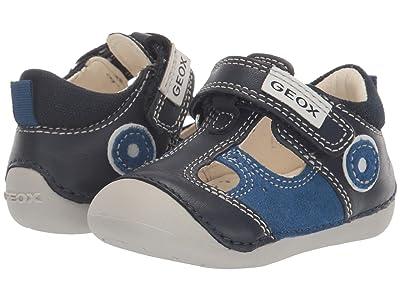 Geox Kids Tutim 23 (Infant/Toddler) (Blue Azure) Boy