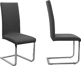 Beautex Lot de 2housses de chaise unies, en coton jersey bi-élastique blanc (couleur au choix)