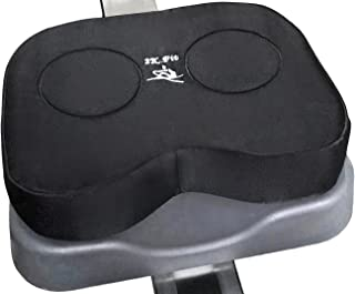 Rowing Machine Seat Cushion (Model 1) That Perfectly fits Concept 2 with Thick Updated Dual Density Memory Foam and Washab...