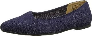حذاء مسطح مسطح من Hush Puppies Women's Sadie Knit Ballet Loafer