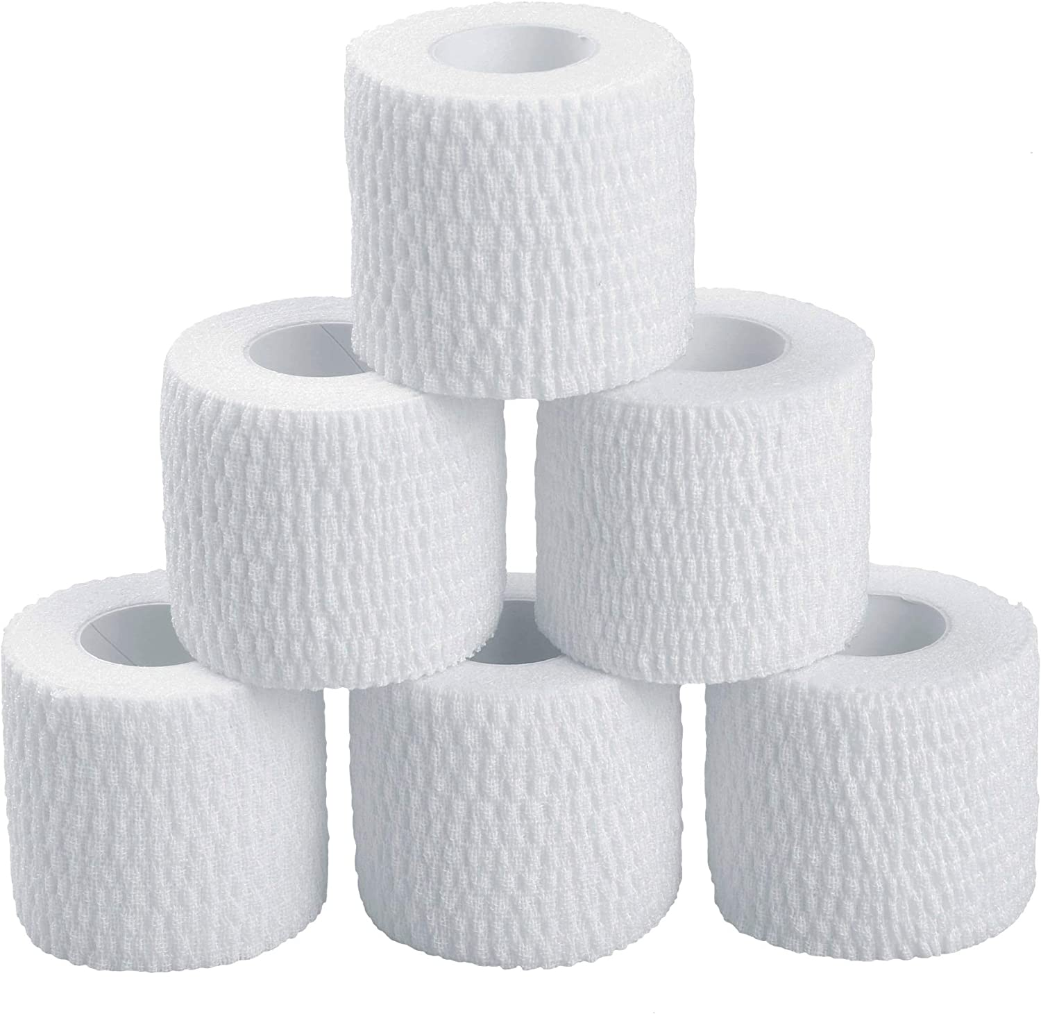 Oly Grip  Weightlifting Thumb Hook Grip Cotton Tear Stretch Tape (6 Rolls)  Weight Lifting  Crossfit  Gymnastics  Keep Fingers and Hands Safe During Workout