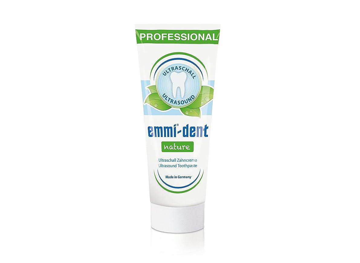 気分が良い南東が欲しいEmmi?dent(エミデント) 超音波歯ブラシ専用 歯磨きペースト エミデント ネイチャー 75g