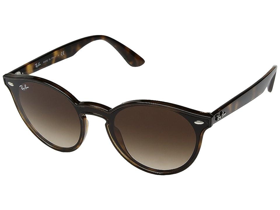 Ray-Ban 0RB4380N 37mm (Light Havana/Brown Gradient) Fashion Sunglasses