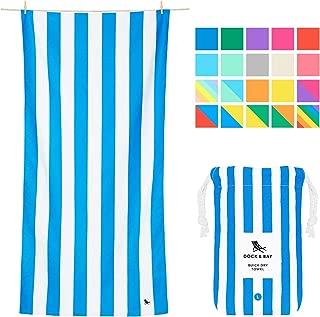 Microfiber Towel - Beach & Travel (Blue - Large 63x31