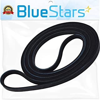 Ultra Durable 661570 Dryer Drum Belt Replacement Part by Blue Stars- Exact Fit for Whirlpool Kenmore Dryer- Replaces 3387610 3389728 661570VP