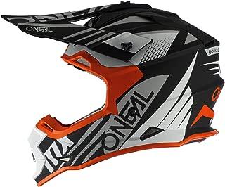 Best orange and black dirt bike helmet Reviews