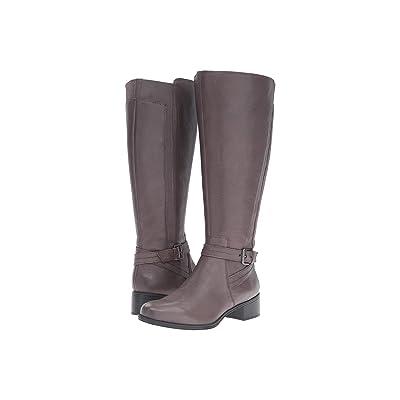 Naturalizer Wynnie Wide Calf (Graphite Lead Leather) Women