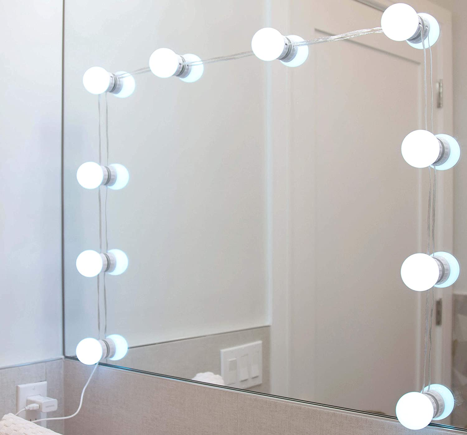 Vanity Mirror Price reduction LED Light Finally popular brand - Dimmable 4 Colors 5 Lighting Brightn