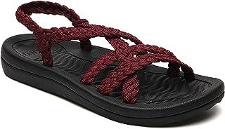 fd37eb89cc64f Amazon.com: Purple - Flats / Sandals: Clothing, Shoes & Jewelry