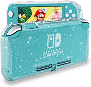 Best DLseego Protective Case Compatible with Nintendo Switch Lite , Glitter Bling Soft TPU Cover with Shock-Absorption and Anti-Scratch Design Protective Case - Crystal Glitter Review