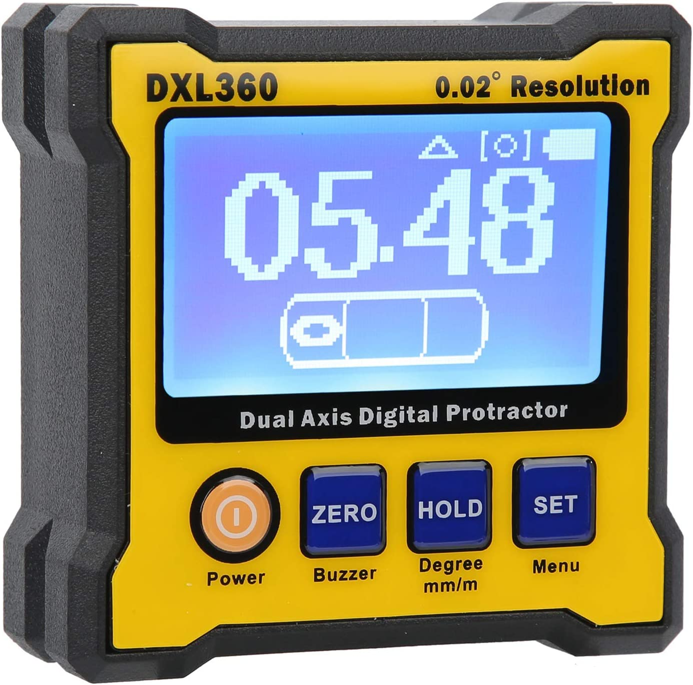 Max 86% OFF Digital Protractor XDL360 US Mono-Co Backlight Max 66% OFF 100-240V