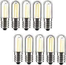 Los Mini E14 LED koelkast, vrieskast, filamentlicht, COB-lampen, 1W, 2W, 4W, warm/koudwitte lamp, 220V, wit, 4W