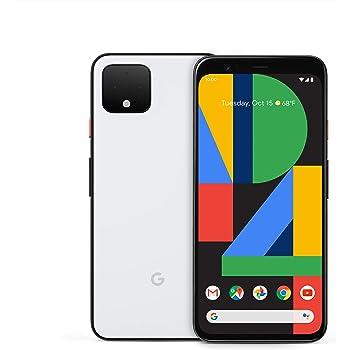 Pixel 4 - Clearly White - 64GB - Unlocked (Renewed)