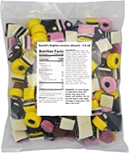 Gustaf's English Licorice Allsorts - 2.5 LB